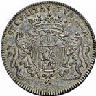 Photo numismatique  ARCHIVES VENTE 2015 -26-28 oct -Coll Jean Teitgen JETONS ET MEDAILLES MESSINS MAITRES ECHEVINS  985- Jeton de Pierre de Rissan, 1700.