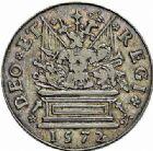Photo numismatique  ARCHIVES VENTE 2015 -26-28 oct -Coll Jean Teitgen JETONS ET MÉDAILLES MESSINS GOUVERNEURS  989- Jeton de Jean de Thévalle, 1572.