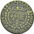 Photo numismatique  ARCHIVES VENTE 2015 -26-28 oct -Coll Jean Teitgen JETONS ET MEDAILLES MESSINS ROIS DE FRANCE HENRI IV (1589-1610). 994- Jeton, 1600.