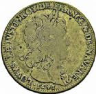 Photo numismatique  ARCHIVES VENTE 2015 -26-28 oct -Coll Jean Teitgen JETONS ET MEDAILLES MESSINS ROIS DE FRANCE LOUIS XIII (1610-1643) 998- Jeton de cuivre du Parlement, 1641.