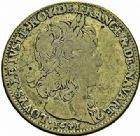 Photo numismatique  ARCHIVES VENTE 2015 -26-28 oct -Coll Jean Teitgen JETONS ET MÉDAILLES MESSINS ROIS DE FRANCE LOUIS XIII (1610-1643) 998- Jeton de cuivre du Parlement, 1641.