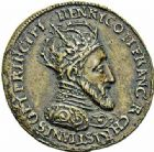 Photo numismatique  ARCHIVES VENTE 2015 -26-28 oct -Coll Jean Teitgen JETONS ET MÉDAILLES MESSINS MEDAILLES HENRI II (1547-1559) 1002- La défense de Metz, 1552.