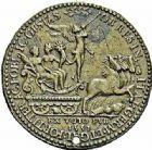 Photo numismatique  ARCHIVES VENTE 2015 -26-28 oct -Coll Jean Teitgen JETONS ET MÉDAILLES MESSINS MEDAILLES HENRI II (1547-1559) 1003- Événements militaires de 1552.