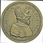 Photo numismatique  ARCHIVES VENTE 2015 -26-28 oct -Coll Jean Teitgen JETONS ET MEDAILLES MESSINS MEDAILLES HENRI II (1547-1559) 1004- Siège de Metz, 1552. François de Lorraine, duc de Guise.