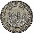 Photo numismatique  ARCHIVES VENTE 2015 -26-28 oct -Coll Jean Teitgen JETONS ET MÉDAILLES MESSINS MEDAILLES HENRI IV (1589-1610) 1005- Hommage à Androuin Roucel, maître-échevin en 1525.