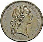 Photo numismatique  ARCHIVES VENTE 2015 -26-28 oct -Coll Jean Teitgen JETONS ET MÉDAILLES MESSINS MEDAILLES LOUIS XV (1715-1774) 1008- Convalescence du roi, 1744.
