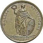 Photo numismatique  ARCHIVES VENTE 2015 -26-28 oct -Coll Jean Teitgen JETONS ET MEDAILLES MESSINS MEDAILLES LOUIS XV (1715-1774) 1009- Guérison du roi, 1744.