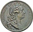 Photo numismatique  ARCHIVES VENTE 2015 -26-28 oct -Coll Jean Teitgen JETONS ET MEDAILLES MESSINS MEDAILLES LOUIS XV (1715-1774) 1010- Achèvement du portique de l'église Saint-Étienne à Metz en 1764.