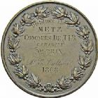 Photo numismatique  ARCHIVES VENTE 2015 -26-28 oct -Coll Jean Teitgen JETONS ET MÉDAILLES MESSINS MEDAILLES NAPOLÉON III (1852-1870) 1014- Tir à la carabine, 1868.
