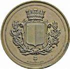 Photo numismatique  ARCHIVES VENTE 2015 -26-28 oct -Coll Jean Teitgen JETONS ET MEDAILLES MESSINS ANNEXION DE L'ALSACE--LORRAINE (1871-1918)  1017- Paul Bezançon, maire, 1871-1877.
