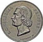 Photo numismatique  ARCHIVES VENTE 2015 -26-28 oct -Coll Jean Teitgen JETONS ET MÉDAILLES MESSINS ANNEXION DE L'ALSACE--LORRAINE (1871-1918)  1018- Laurent Maréchal, peintre (1801-1887).