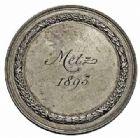 Photo numismatique  ARCHIVES VENTE 2015 -26-28 oct -Coll Jean Teitgen JETONS ET MÉDAILLES MESSINS ANNEXION DE L'ALSACE--LORRAINE (1871-1918)  1021- Exposition Arts et métiers et Apiculteurs, 1893.