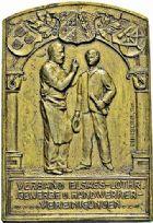 Photo numismatique  ARCHIVES VENTE 2015 -26-28 oct -Coll Jean Teitgen JETONS ET MÉDAILLES MESSINS ANNEXION DE L'ALSACE--LORRAINE (1871-1918)  1025- Exposition, 1907.