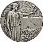 Photo numismatique  ARCHIVES VENTE 2015 -26-28 oct -Coll Jean Teitgen JETONS ET MEDAILLES MESSINS ANNEXION DE L'ALSACE--LORRAINE (1871-1918)  1024- Association des propriétaires, 1913.