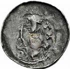 Photo numismatique  ARCHIVES VENTE 2015 -26-28 oct -Coll Jean Teitgen DUCHE DE LORRAINE BERTHE de Souabe (1176-1195)  1042- Denier, Nancy.