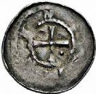 Photo numismatique  ARCHIVES VENTE 2015 -26-28 oct -Coll Jean Teitgen DUCHÉ DE LORRAINE BERTHE de Souabe (1176-1195)  1042- Denier, Nancy.