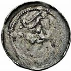Photo numismatique  ARCHIVES VENTE 2015 -26-28 oct -Coll Jean Teitgen DUCHÉ DE LORRAINE MATHIEU II (1220-1251)  1044- Denier, Sierck.