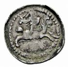 Photo numismatique  ARCHIVES VENTE 2015 -26-28 oct -Coll Jean Teitgen DUCHE DE LORRAINE FERRI III (1251-1303)  1045- Denier, Mirecourt.