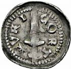 Photo numismatique  ARCHIVES VENTE 2015 -26-28 oct -Coll Jean Teitgen DUCHE DE LORRAINE FERRI III (1251-1303)  1045- Denier, Mirecourt.