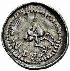 Photo numismatique  ARCHIVES VENTE 2015 -26-28 oct -Coll Jean Teitgen DUCHE DE LORRAINE FERRI III (1251-1303)  1046- Denier avec lis et croisette, Nancy.