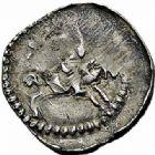Photo numismatique  ARCHIVES VENTE 2015 -26-28 oct -Coll Jean Teitgen DUCHE DE LORRAINE FERRI III (1251-1303)  1049- Denier avec deux rosaces, Nancy.