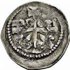 Photo numismatique  ARCHIVES VENTE 2015 -26-28 oct -Coll Jean Teitgen DUCHE DE LORRAINE FERRI III (1251-1303)  1054- Denier avec écu et grande croix, Nancy.