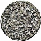Photo numismatique  ARCHIVES VENTE 2015 -26-28 oct -Coll Jean Teitgen DUCHE DE LORRAINE FERRI III (1251-1303)  1055- Quart de gros ou spadin, Nancy.