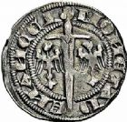 Photo numismatique  ARCHIVES VENTE 2015 -26-28 oct -Coll Jean Teitgen DUCHÉ DE LORRAINE FERRI III (1251-1303)  1055- Quart de gros ou spadin, Nancy.