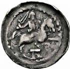 Photo numismatique  ARCHIVES VENTE 2015 -26-28 oct -Coll Jean Teitgen DUCHE DE LORRAINE FERRI III (1251-1303)  1057- Deniers (2), avec A et avec lis, Neufchâteau.