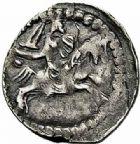 Photo numismatique  ARCHIVES VENTE 2015 -26-28 oct -Coll Jean Teitgen DUCHÉ DE LORRAINE FERRI III (1251-1303)  1058- Denier de Sierck.