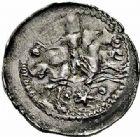 Photo numismatique  ARCHIVES VENTE 2015 -26-28 oct -Coll Jean Teitgen DUCHE DE LORRAINE THIBAUT de Lorraine, Sire de Rumigny (1281-1303)  1059- Denier, Neufchâteau.