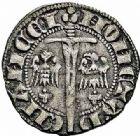 Photo numismatique  ARCHIVES VENTE 2015 -26-28 oct -Coll Jean Teitgen DUCHÉ DE LORRAINE THIBAUT II (1303-1312)  1061- Quart de gros ou spadin, Nancy.