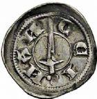 Photo numismatique  ARCHIVES VENTE 2015 -26-28 oct -Coll Jean Teitgen DUCHE DE LORRAINE THIBAUT II (1303-1312)  1062- Denier, Nancy.