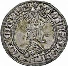 Photo numismatique  ARCHIVES VENTE 2015 -26-28 oct -Coll Jean Teitgen DUCHÉ DE LORRAINE JEAN Ier (1346-1390)  1072- Gros au heaume, Nancy.