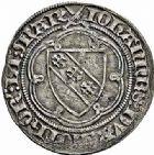Photo numismatique  ARCHIVES VENTE 2015 -26-28 oct -Coll Jean Teitgen DUCHE DE LORRAINE JEAN Ier (1346-1390)  1077- Gros, Sierck.