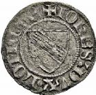 Photo numismatique  ARCHIVES VENTE 2015 -26-28 oct -Coll Jean Teitgen DUCHE DE LORRAINE JEAN Ier (1346-1390)  1078- Quart de gros, Sierck.