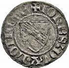 Photo numismatique  ARCHIVES VENTE 2015 -26-28 oct -Coll Jean Teitgen DUCHÉ DE LORRAINE JEAN Ier (1346-1390)  1078- Quart de gros, Sierck.