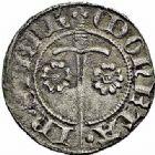 Photo numismatique  ARCHIVES VENTE 2015 -26-28 oct -Coll Jean Teitgen DUCHE DE LORRAINE JEAN Ier (1346-1390)  1078- Quart de gros, Sierck.