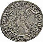 Photo numismatique  ARCHIVES VENTE 2015 -26-28 oct -Coll Jean Teitgen DUCHÉ DE LORRAINE CHARLES II (1390-1431)  1085- Gros au cavalier, Nancy.
