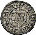 Photo numismatique  ARCHIVES VENTE 2015 -26-28 oct -Coll Jean Teitgen DUCHE DE LORRAINE CHARLES II (1390-1431)  1087- Denier, Nancy.