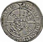 Photo numismatique  ARCHIVES VENTE 2015 -26-28 oct -Coll Jean Teitgen DUCHE DE LORRAINE CHARLES II (1390-1431)  1088- Demi-gros, atelier indéterminé.