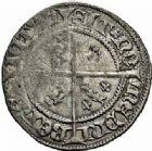 Photo numismatique  ARCHIVES VENTE 2015 -26-28 oct -Coll Jean Teitgen DUCHE DE LORRAINE CHARLES II (1390-1431)  1089- Quart de gros ou carolus.