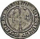 Photo numismatique  ARCHIVES VENTE 2015 -26-28 oct -Coll Jean Teitgen DUCHÉ DE LORRAINE RENE Ier d'Anjou (1431-1453)  1093- Demi-gros, Nancy.