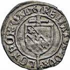 Photo numismatique  ARCHIVES VENTE 2015 -26-28 oct -Coll Jean Teitgen DUCHÉ DE LORRAINE RENE II de Vaudémont, duc  de Bar (1473-1508)  1105- Blanc, Nancy.