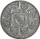 Photo numismatique  ARCHIVES VENTE 2015 -26-28 oct -Coll Jean Teitgen DUCHÉ DE LORRAINE ANTOINE, duc de Calabre (1508-1544)  1116- Reproduction coulée du grand écu.