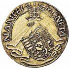 Photo numismatique  ARCHIVES VENTE 2015 -26-28 oct -Coll Jean Teitgen DUCHÉ DE LORRAINE ANTOINE, duc de Calabre (1508-1544)  1118- Teston (avec titre de duc de Calabre), Nancy.