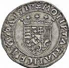 Photo numismatique  ARCHIVES VENTE 2015 -26-28 oct -Coll Jean Teitgen DUCHÉ DE LORRAINE ANTOINE, duc de Calabre (1508-1544)  1119- Demi-teston, Nancy 1517.