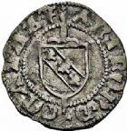 Photo numismatique  ARCHIVES VENTE 2015 -26-28 oct -Coll Jean Teitgen DUCHÉ DE LORRAINE ANTOINE, duc de Calabre (1508-1544)  1126- Blanc et liard, Nancy.