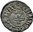 Photo numismatique  ARCHIVES VENTE 2015 -26-28 oct -Coll Jean Teitgen DUCHÉ DE LORRAINE ANTOINE, duc de Calabre (1508-1544)  1128- Maille ou denier, Nancy.