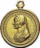 Photo numismatique  ARCHIVES VENTE 2015 -26-28 oct -Coll Jean Teitgen DUCHÉ DE LORRAINE ANTOINE, duc de Calabre (1508-1544)  1130- Médaille, (vers 1539).